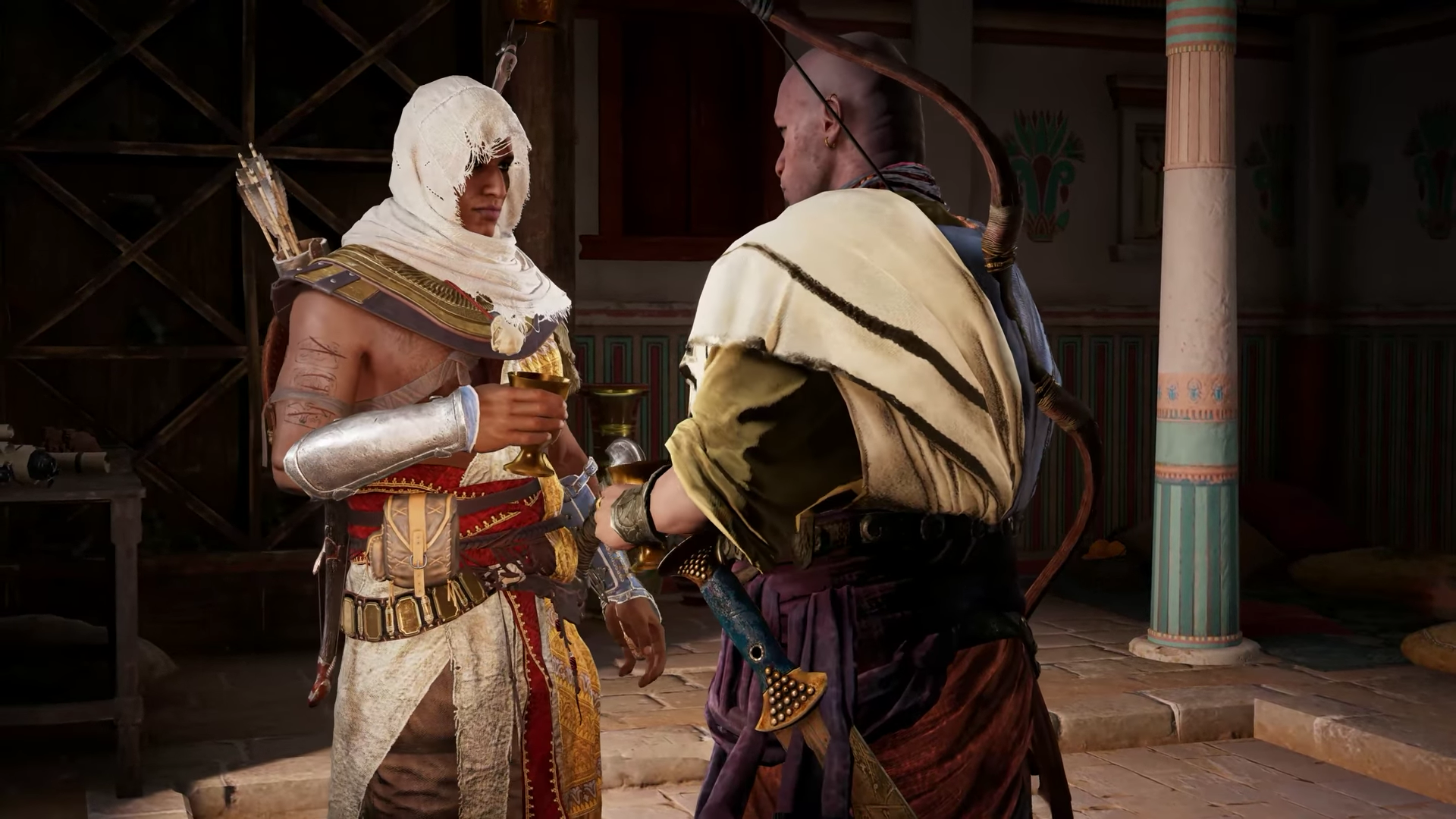 1 Hour Of Assassin S Creed Origins Gameplay On The Xbox One X